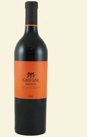 Grifone Primitivo 2010 Wine Tasting Notes