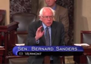 Bernie Saunders independent sentaor