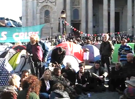 Occupy Protests in London
