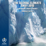 WMO Reports a Decade Summary of Climate Extremes