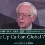 Senator Sanders Gives A Wake Up Call on Global Warming