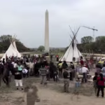 Cowboys and Indians March on US Capital