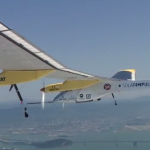 Solar Impulse Flys in San Francisco