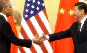China and USA carbon agreement