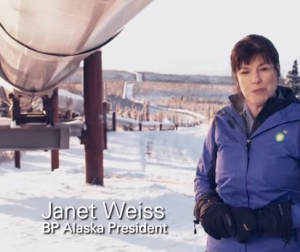 Janet Weiss BP Alaska President talks about Good Gas & Oil
