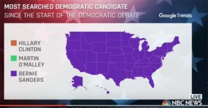 Bernie-google-trends
