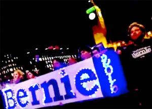 Americans abroad vote for Bernie