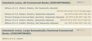 Interbank Loan data