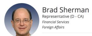 Brad Sherman political influence