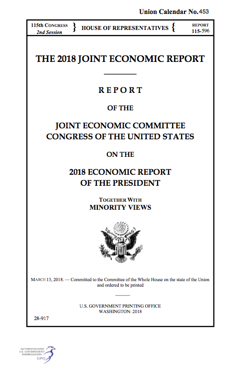 USAs 2018 Joint Economic Report is Pro Cryptocurrency